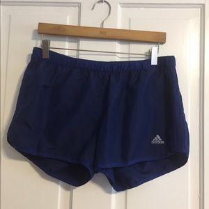 Blue Adidas Shorts
